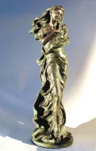 Dea Patrizia cm.43x61xx25 anno 2006 - statue statuette e sculture di bronzo in vendita a prezzi speciali dall'artista scultore