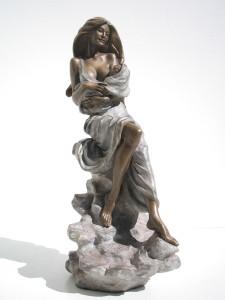 Traguardi cm.87x36x20 anno 2007 - statue statuette e sculture di bronzo in vendita a prezzi speciali dall'artista scultore