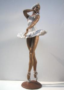 Passo di danza cm.76x28x28 anno 2005