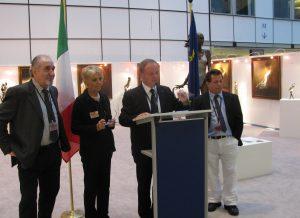 Parlamento Europeo 2010 con onorevole Berlato