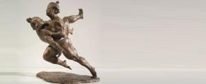 Maternità cm 40x30x22 anno 1992 - statua donna maternità sculture statue donne statuine statuette in bronzo