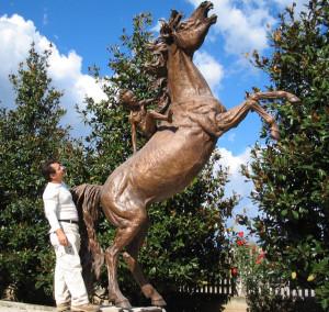 Monumenti in bronzo - Statue giardino