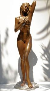 Scultura in bronzo - Statue di Donne Desirè