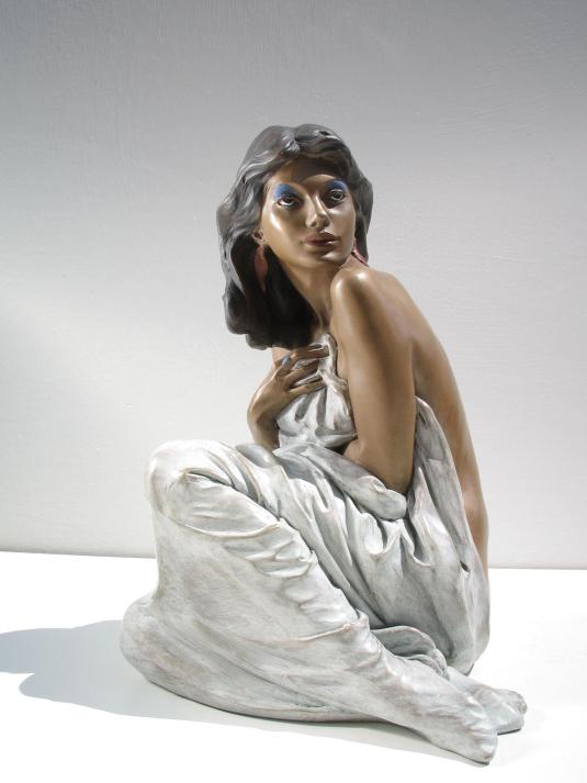 Scultura in bronzo - Statua di Donna