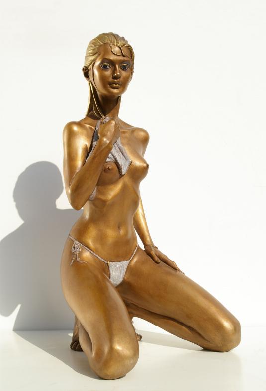 Statua di bronzo - Nudi artistici