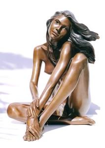 Statua di bronzo - Statua nuda