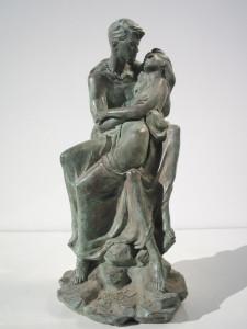 Statua in bronzo – Amanti
