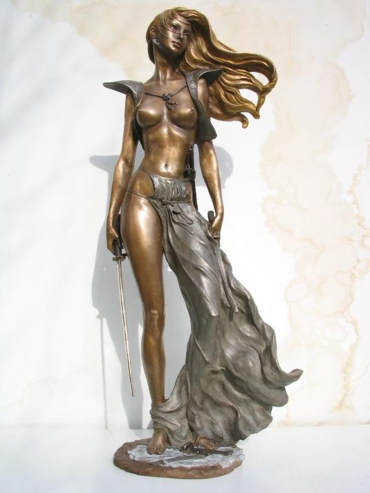 Scultura in bronzo - Dopo la battaglia