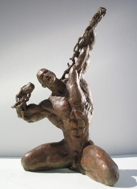 Scultura in bronzo - Verso nuovi spazi