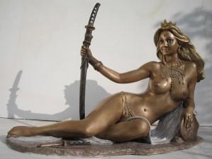 Scultura in bronzo - Dea Patrizia