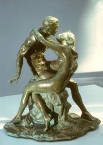 Statua di bronzo – Amanti