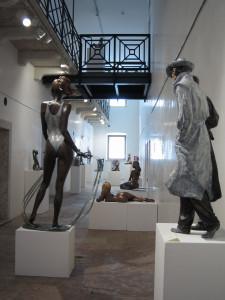Personale – Museo Le Carceri – Asiago – Esposizione statue in bronzo
